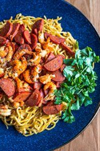 Crawfish Garlic Noodle