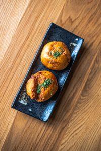 Crunchy Pork Bao